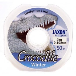 Леска зимняя Jaxon Crocodile Winter 50 m 0.08-0.20 mm