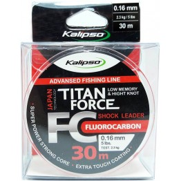 Леска флюорокарбон Kalipso Titan Force 30м 0.16мм
