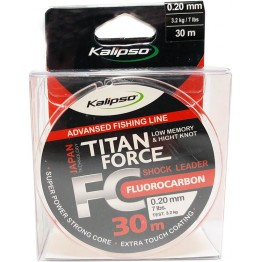 Леска флюорокарбон Kalipso Titan Force 30м 0.20мм