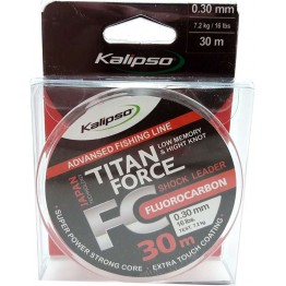 Леска флюорокарбон Kalipso Titan Force 30м 0.30мм