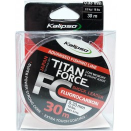 Леска флюорокарбон Kalipso Titan Force 30м 0.33мм