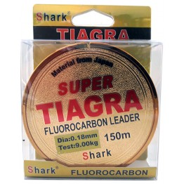 Леска флюорокарбон Shark Super Tiagra 150м 0.18 - 0.40 мм
