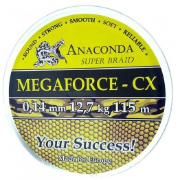 Шнур Anaconda Megaforce CX 115м 0.14мм