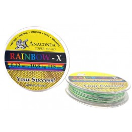 Шнур Anaconda Rainbow-X 115м 0.12мм