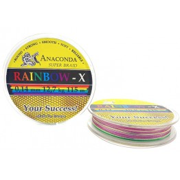 Шнур Anaconda Rainbow-X 115м 0.14мм