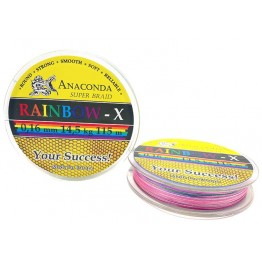 Шнур Anaconda Rainbow-X 115м 0.16мм