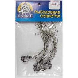 Поводки на макушатник 10 см (20 шт)