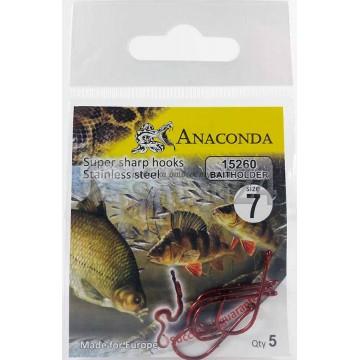Крючки Anaconda 15260 Baitholder №7 (5 шт)