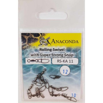Карабины Anaconda RS-KA 11-12 Super Strong (10шт)