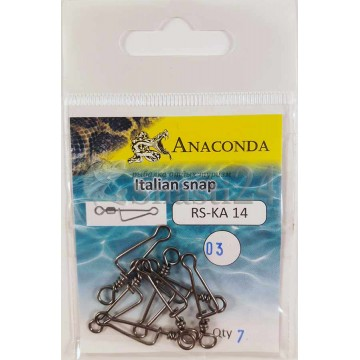 Застежки Anaconda RS-KA 14-03 Italian snap (7шт)