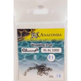 Соединение Anaconda Безузловое RL-KL 1000-01 (10 шт)