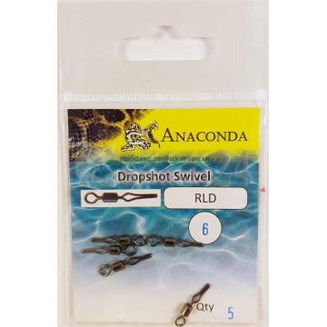 Вертлюги Anaconda RLD-06 дроп-шот (5шт)