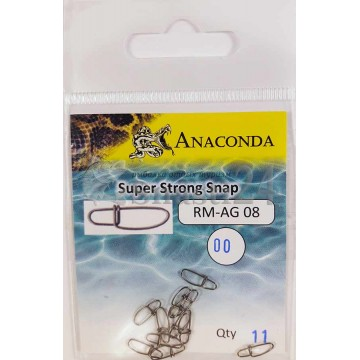 Застежки Anaconda RM-AG 08-00 Super Strong (13шт)